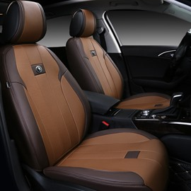 Simple Style PU Leather All Seasons Universal Fit Seat Covers