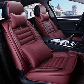PU Leather Simple Style All Seasons Universal Fit Seat Covers