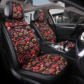 Multicolor Printing 3D Model Design Universal Fit Car Seat Covers