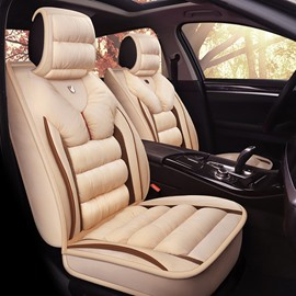 3D Shape Design Warm Material Suede Universal Fit Car Seat Covers