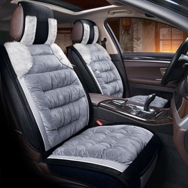 Well-made Flannel Warm Plush Winter Universal Car Seat Covers