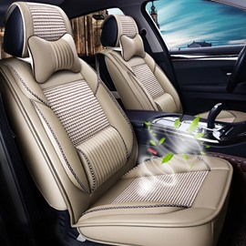 【Super Breathable】Plain Skin Friendly Versatility Cost-Effective Smooth Seat Cover