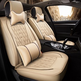 Comfortable Soft Simple Design Universal Fit Car Seat Covers