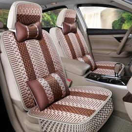 Simple Style Stripe Patttern Machine Weave Universal Car Seat Cover
