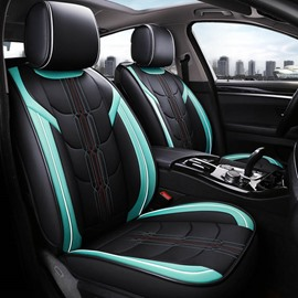 Sports Style Color Block Wear-Resisting丨Three Lines丨Easy To Clean丨Soft Tactility Universal Fit Seat Cover