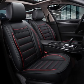 New Arrival Wear-Resistant Breathable Durable PVC Leather 5-Seater Universal Fit Seat Covers