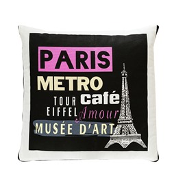 Fashionable Quillow Paris Designed Cotton Blanket Car Pillow