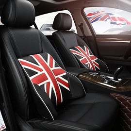 Union Jack Style And Beautiful Fashion Design Lumbar Support Car Pillow
