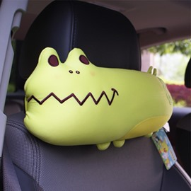 Naughty Little Crocodile Particular Popular Car Headrest Pillow
