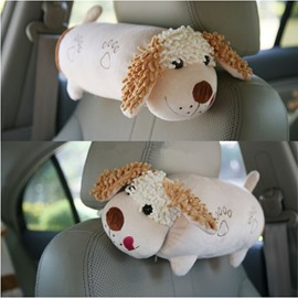Elongated Cartoon Dog Style Creative One Pair Car Pillow