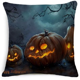 Pumpkin Halloween Monster Pattern Creative Car Pillow