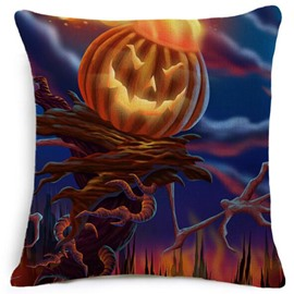 Creative Halloween Classic Pumpkin Modeling Car Pillow