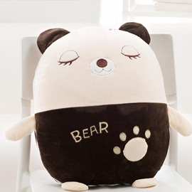 Cute Cartoon Bear Pattern Design Three Kinds Of Use Multi-Functional Car Pillow
