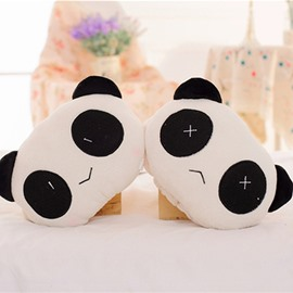 Fashion Charming 1-Pair Lovely Panda Style Creative Car Headrest Pillow