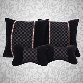 Luxury Extremely Comfortable Throw Pillow Set For Cars And Home Use