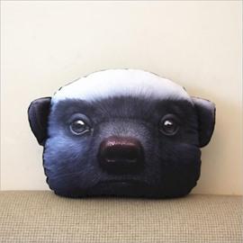Creative 3D Animal Face Car Neck Soft Pillow
