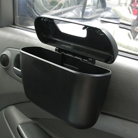 Car Door Suspension Mini Car Trash Can