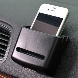 Soft Plastic and 3M Solid Glue Sticking Box Style Car Phone Holder
