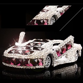 Elegant Crystal and  Luxurious Design Car Shape Car Fragrance Base