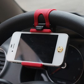 Horizontal Steering Wheel Phone Mount