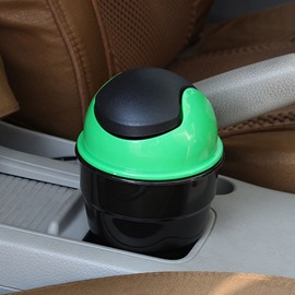 Functional and Economical Small Car Trash Can