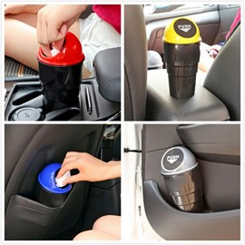 Modern Design Colorful Plastic Car Trash Can