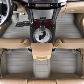 Simple Style Luxury Design With High-Grade PVC Leather Custom Fit Car Floor Mats
