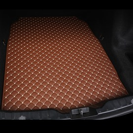 Cost-effective Classic High-quality Leather Brown Custom Car Trunk Cushion