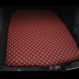 Cost-effective Classic High-quality Leather Burgundy Custom Car Trunk Cushion