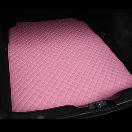 Cost-effective Classic High-quality Leather Pink Custom Car Trunk Cushion