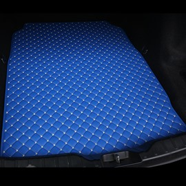 Cost-effective Classic High-quality Leather Blue Custom Car Trunk Cushion