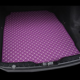 Cost-effective Classic High-quality Leather Purple Custom Car Trunk Cushion