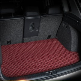 Distinctive Waterproof Durable Trunk Protecter Burgundy Custom Car Trunk Cushion