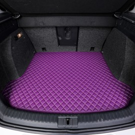 Distinctive Waterproof Durable Trunk Protecter Purple Custom Car Trunk Cushion