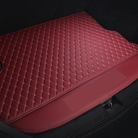 2 Color Simple Geometric Style Waterproof Car Trunk Mat For Volkswagen