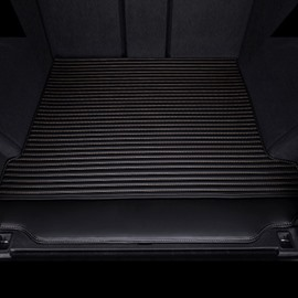 Three Color Simple Stripes Style Waterproof Car Trunk Mat For Jeep