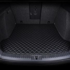3 Color Geometric Pattern Waterproof Car Trunk Mat For Santana