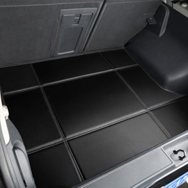 Solid Black Car Trunk Mat For XEXFF-PACE