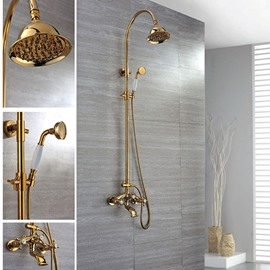 New Arrival High Quality Gold Shower Head Faucet