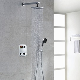 New Style High Quality Thermostatic Digital Display Shower Head Faucet