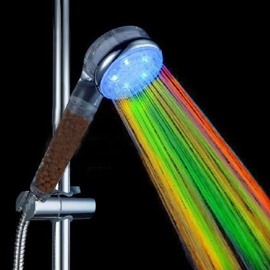 LED Color-changing  Shower Head