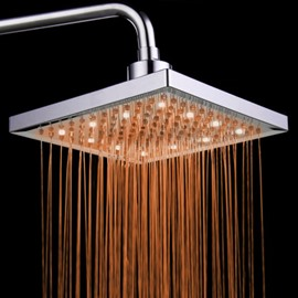 Luxurious Shower Head with Color Changing LED Light