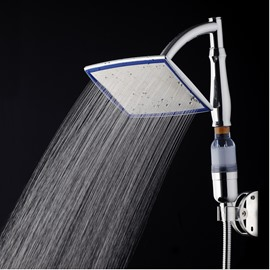 Square High Pressure Stainless Steal Spray and Handhold Shower