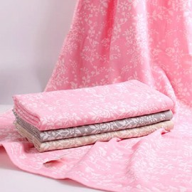 Pure Cotton Double Tier Quick-Dry Bath Towel