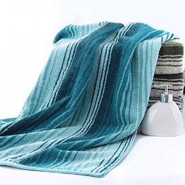 Sydney Style Pure Cotton Stripe Soft Bath Towel