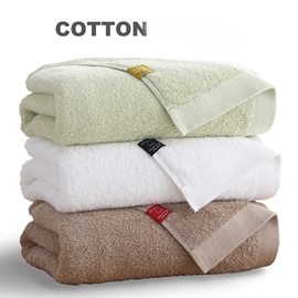 75 hotel quality solid color thick 100 cotton bath towel