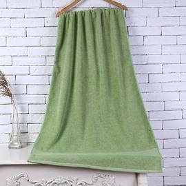 28-Inch-by-55-Inch Green Soft Cotton Bath Towel