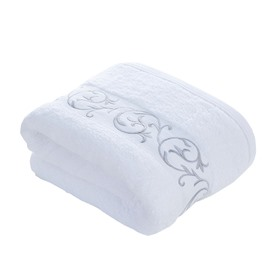 Rectangular Soft Cotton Plain Pattern Face&Hand Towel