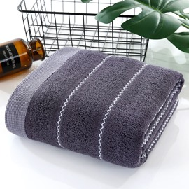 Cotton Quick Dry Rectangular Korean Style Bath Towel