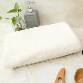 Quick-Dry Rectangular Plain Pattern Japanese Style Towel